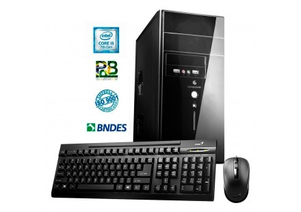 COMPUTADOR STOK INTEL CORE i5 7400 3.0GHz - 4GB - SSD 120GB