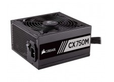 FONTE CORSAIR CX SERIES CX750M 80 PLUS BRONZE 750W PFC ATIVO - CP-9020061-WW