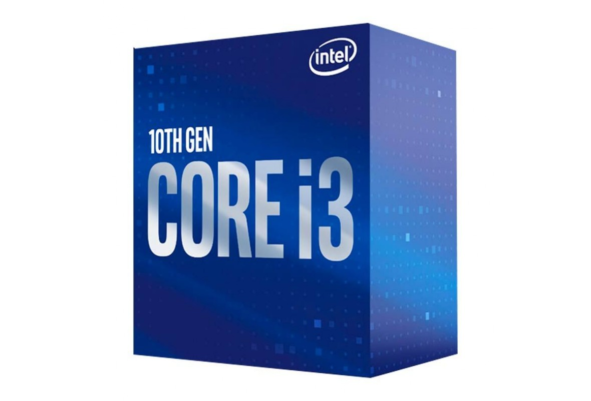 PROCESSADOR INTEL CORE I3-10100 QUAD-CORE 3.6GHZ (4.3GHZ TURBO) 6MB CACHE LGA1200