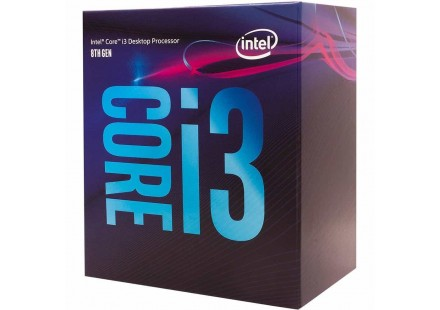 PROCESSADOR CORE i3-9100F COFFEE LAKE 3.6 GHz 6MB LGA1151 65W BOX INTEL
