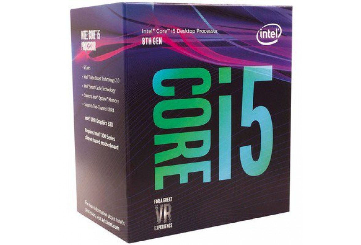 PROCESSADOR INTEL CORE I5 8400 COFFEE LAKE 2.8GHZ - 9MB CACHE - BX80684I58400