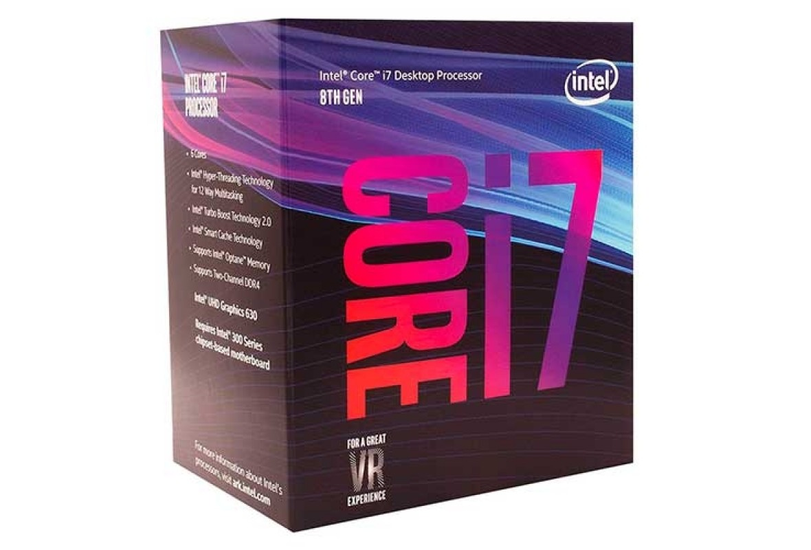 PROCESSADOR INTEL CORE I7 8700 COFFEE LAKE 3.2GHZ - 12MB CACHE - BX80684I78700