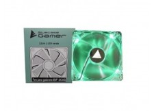 FAN PARA GABINETE BLUECASE 120MM LED VERDE - BF-03G