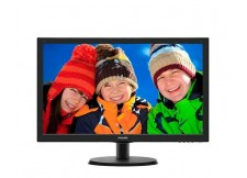 "MONITOR LED PHILIPS 21.5"" FULL HD 5MS - 223V5LHSB2"