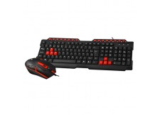KIT TECLADO E MOUSE GAMER C3TECH - GK20BK